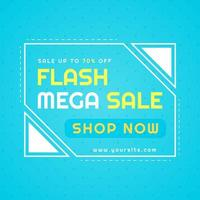 flash mega poster di vendita moderna vendita sfondo