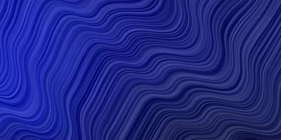 layout vettoriale blu scuro con linee ironiche.