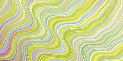 layout vettoriale multicolore chiaro con arco circolare.