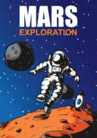 Illustrazione di esplorazione di Marte vettore