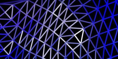 disegno poligonale geometrico di vettore viola chiaro.