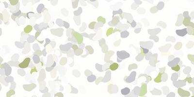 sfondo vettoriale grigio chiaro con forme caotiche.
