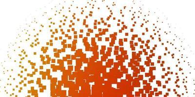 modello vettoriale arancione chiaro in rettangoli.