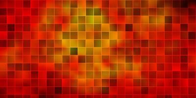 trama vettoriale arancione scuro in stile rettangolare.