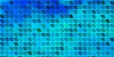 modello vettoriale azzurro in stile quadrato.