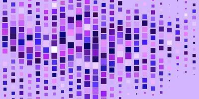 modello vettoriale viola chiaro con rettangoli.