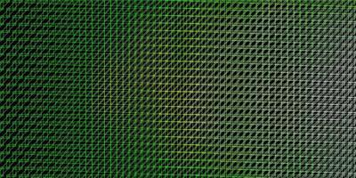 trama vettoriale verde scuro con linee.