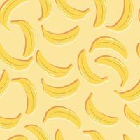 banane senza cuciture di frutta con doppia ombra