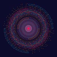 Visualizzazione dell'elemento frattale di Big Data