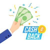 Vettori di Cash Back iconici