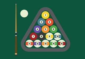 Set di cose per giocare a biliardo