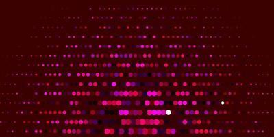 trama vettoriale rosa scuro con dischi.