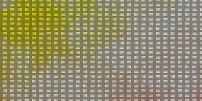 sfondo vettoriale arancione chiaro in stile poligonale.