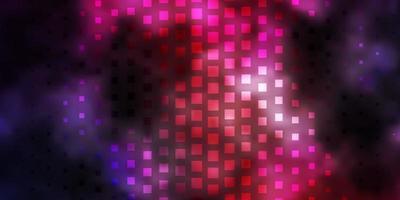 layout vettoriale rosa scuro, blu con linee, rettangoli.