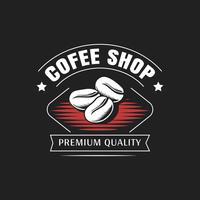 Caffetteria Logo vettoriale