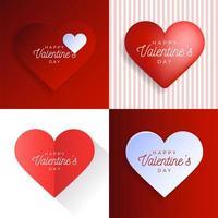set di carte del cuore