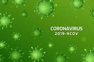 infezione da virus o sfondo di cellule batteriche.
