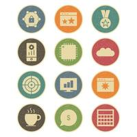 set di icone di ottimizzazione dei motori di ricerca per uso personale e commerciale ...