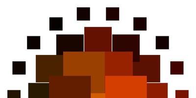modello vettoriale arancione chiaro in stile quadrato.