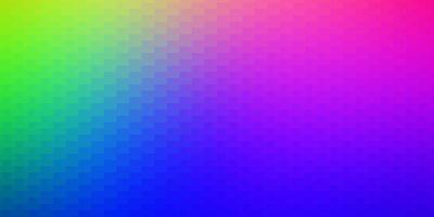 sfondo vettoriale multicolore scuro con rettangoli.