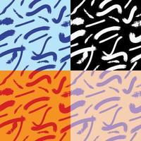pennellate variazioni di modelli senza soluzione di continuità