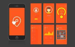 Interfaccia utente e interfaccia grafica utente per app mobili