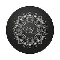 mandala ramadan kareem decorazione icona