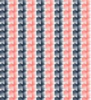 Vector seamless pattern di cubi rosa e neri