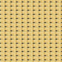 Vector seamless pattern di cubi d'oro
