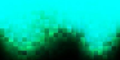 modello vettoriale verde scuro con forme astratte.