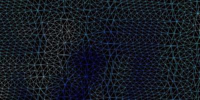 disegno poligonale geometrico di vettore blu chiaro, verde.