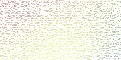 sfondo vettoriale multicolore scuro con arco circolare.