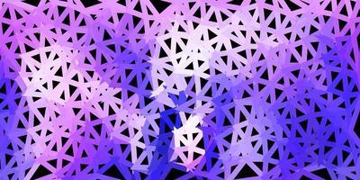 disposizione poligonale geometrica di vettore viola chiaro.