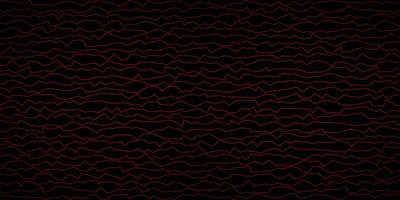 sfondo vettoriale rosso scuro con linee piegate.