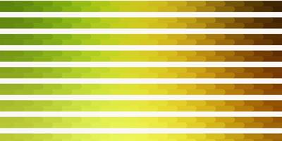 modello vettoriale verde chiaro, rosso con linee.