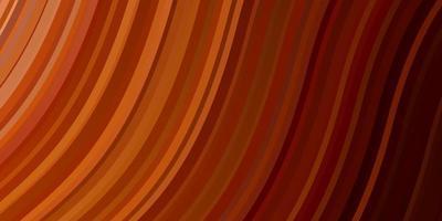layout vettoriale arancione chiaro con linee ironiche.
