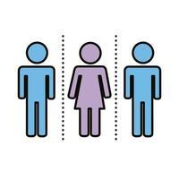 gruppo di esseri umani con distanza sociale