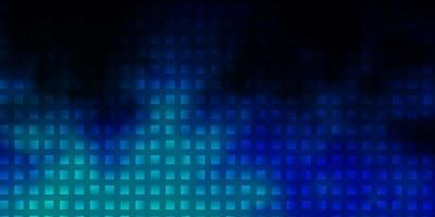 sfondo vettoriale blu scuro con rettangoli.