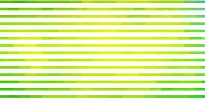 layout vettoriale verde chiaro con linee.