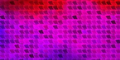 sfondo vettoriale rosa chiaro, rosso con rettangoli.