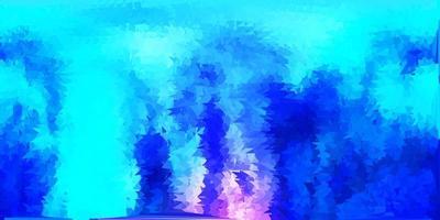 motivo a mosaico triangolo vettoriale rosa scuro, blu.