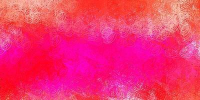 sfondo vettoriale rosa scuro con punti.