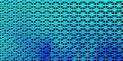 disegno del mosaico del triangolo di vettore blu chiaro.