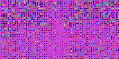 modello vettoriale multicolore chiaro con sfere.