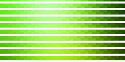 sfondo vettoriale verde chiaro con linee.