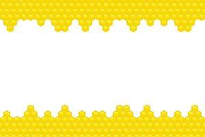 illustrazione di disegno vettoriale di sfondo miele