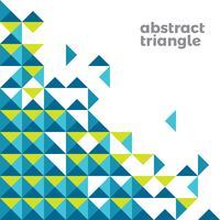 Triangolo astratto sfondo semplice