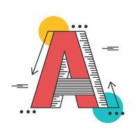 lettera una tipografia