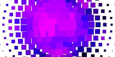 texture vettoriale viola chiaro in stile rettangolare.