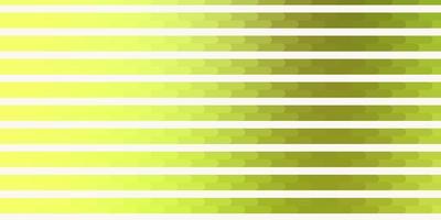 trama vettoriale verde chiaro, giallo con linee.